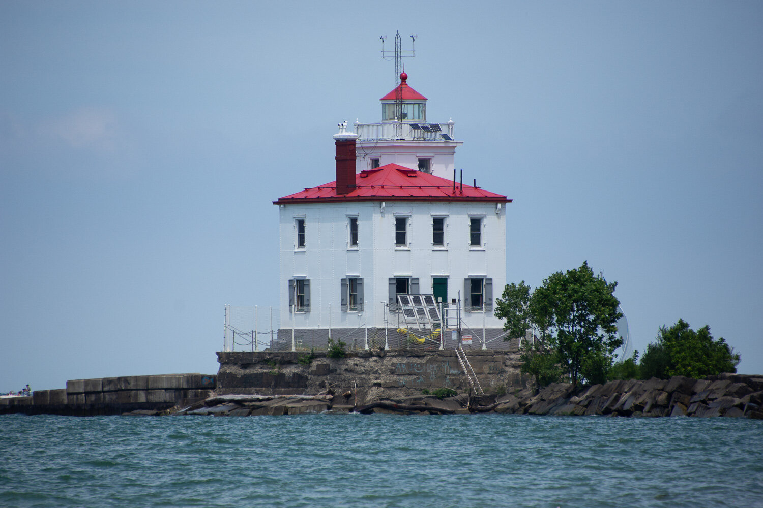 Lighthouse at Lake Erie