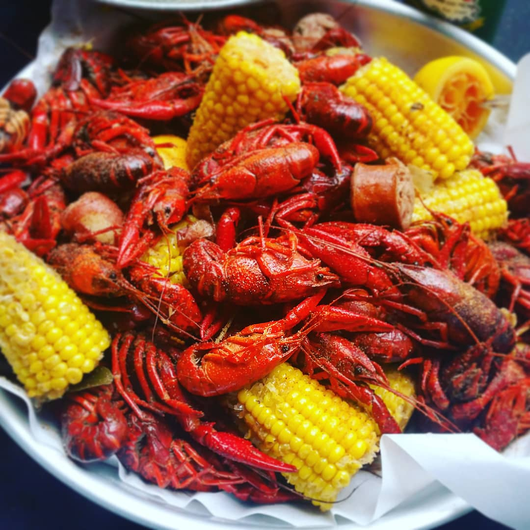Louisiana Style Crawfish Boil - We'll have live crawfish from Louisiana shipped straight to your door for this Cajun feast. Featuring all the crawdads you can eat cooked in our specially seasoned boil, with Andouille sausage, corn on the cob, potatoes, mushrooms, garlic and aromatics.We provide everything you need, including hot sauce, bibs, wet-naps and newspaper for the tables. Chef Michael will prepare your boil outdoors and serve to all your guests.Prep Time: 2 hours; Event duration: 2 hours$45 per person (10 guest minimum)