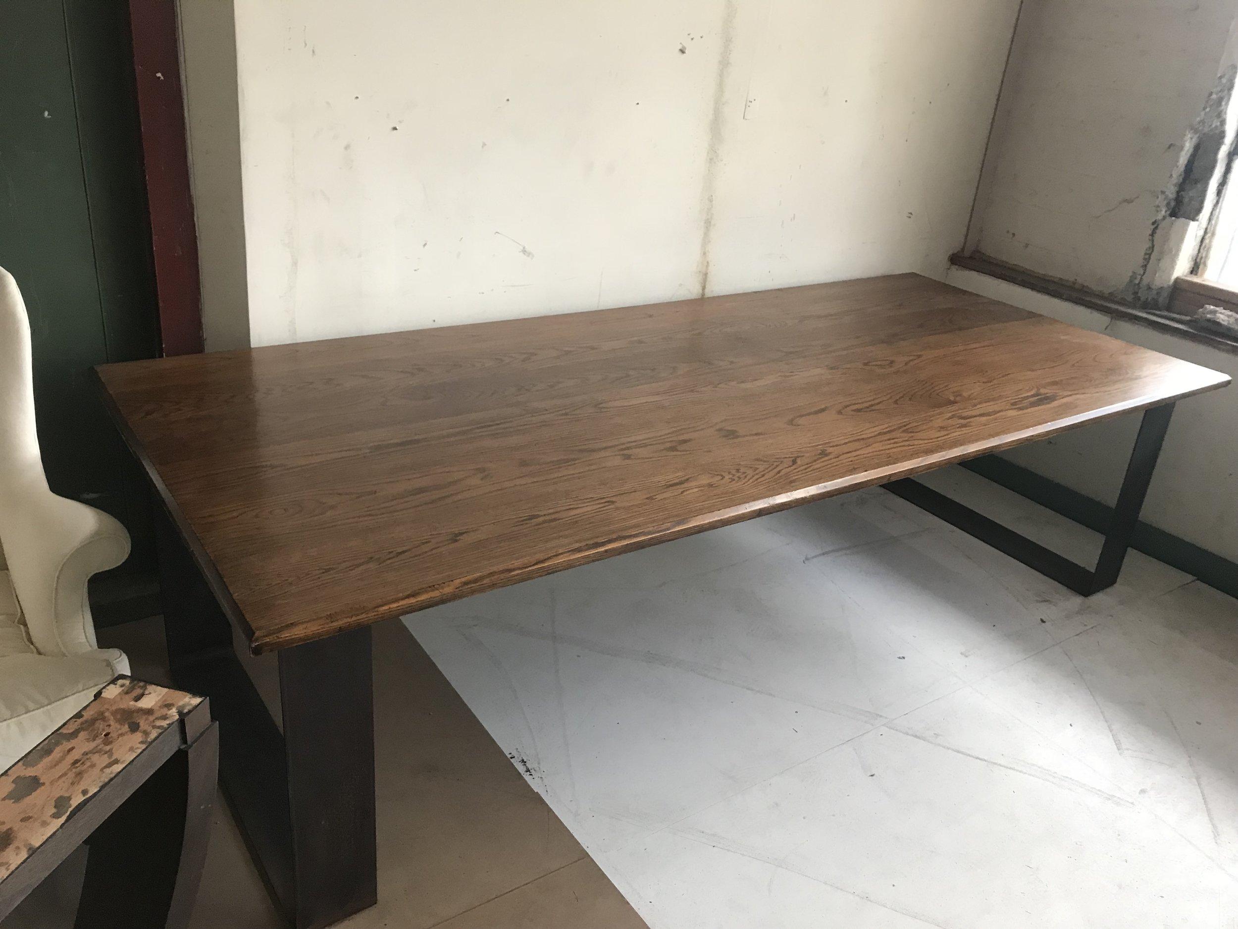 OAK TABLE TOP