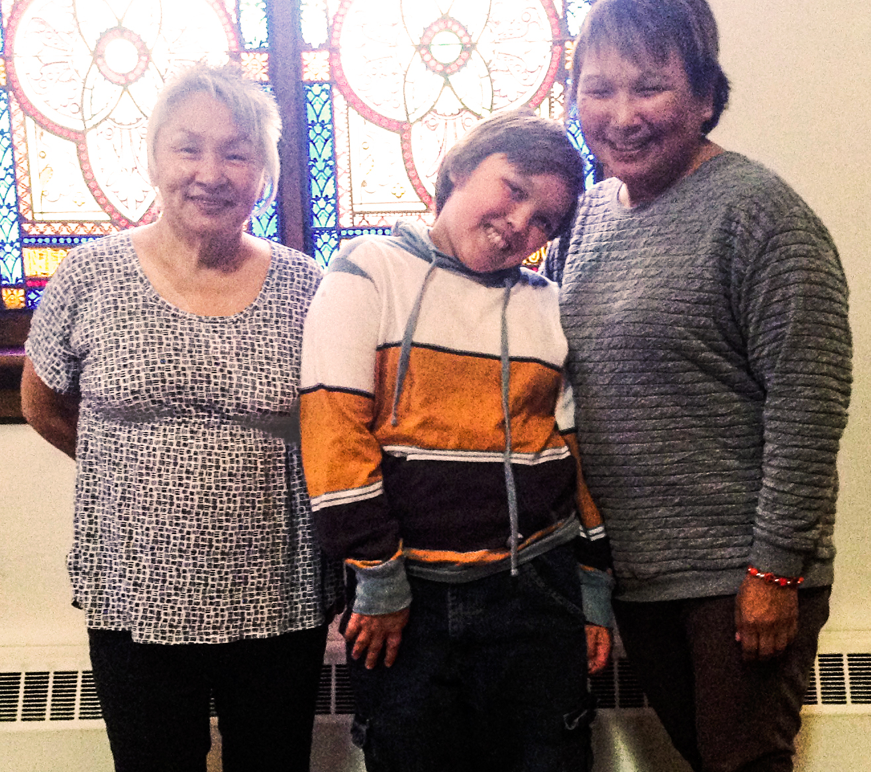 photo: MMS.  Louisa Sudlovenick Gillespie, Albie Galliford and Tauni Sheldon.