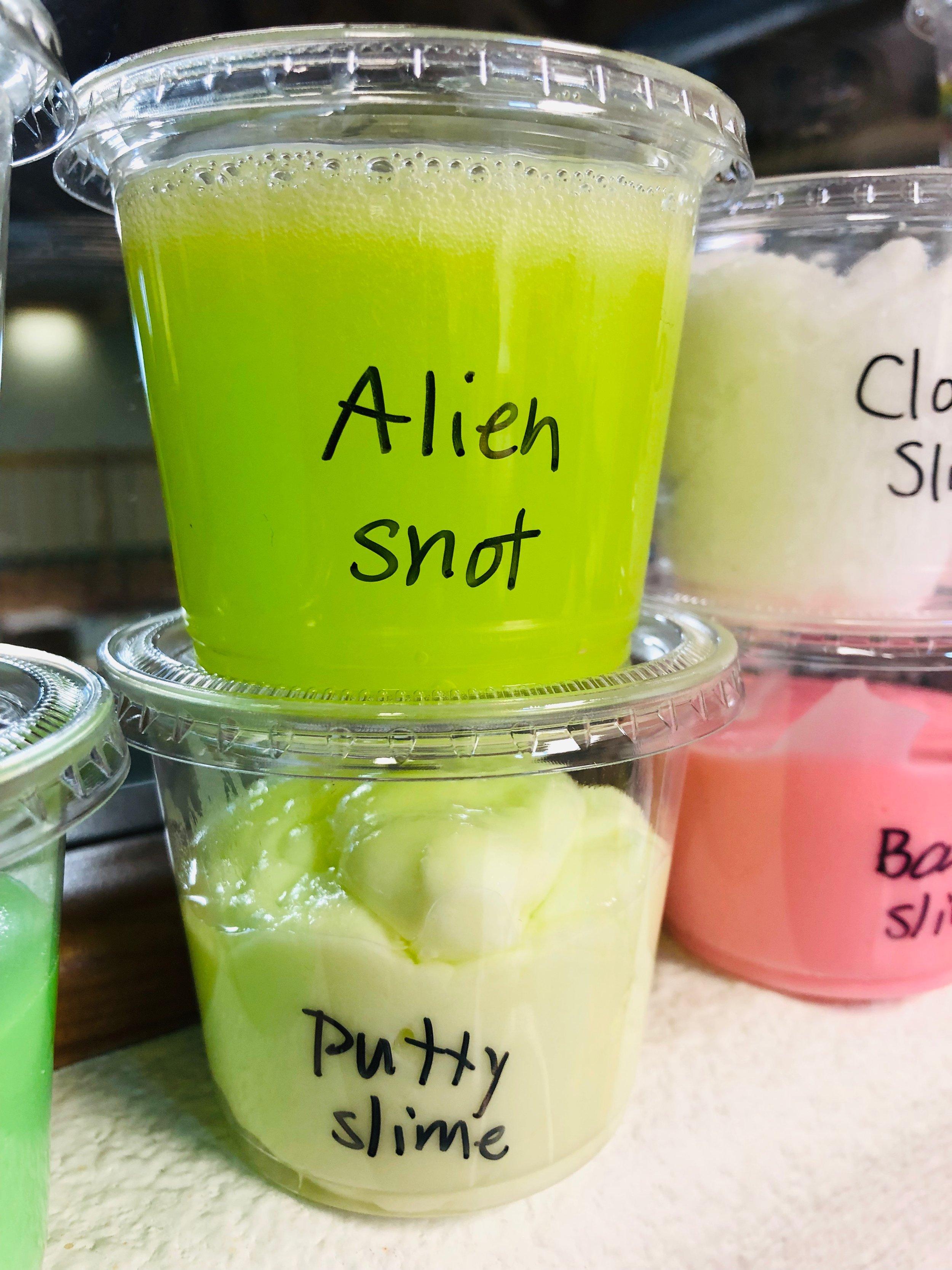 Alien snot?! #brainfueltoys #slime