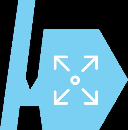 The AuthorTec Resize Images Icon