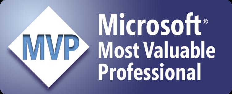 Microsoft Most Valuable Professional - MVP- logo