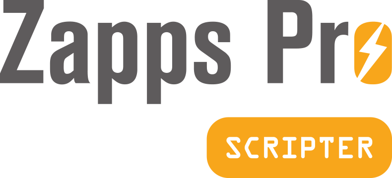 The Zapps Pro Scripter logo