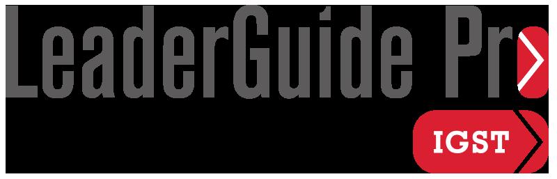 The LeaderGuide Pro IGST logo