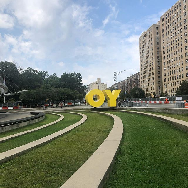 Rogue tOY story letters!! House show tonight in Providence. Heading back to New York tomorrow. You've got a friend in me 🤠 — . . . . . #newyork #oy #yo #brooklynmuseum