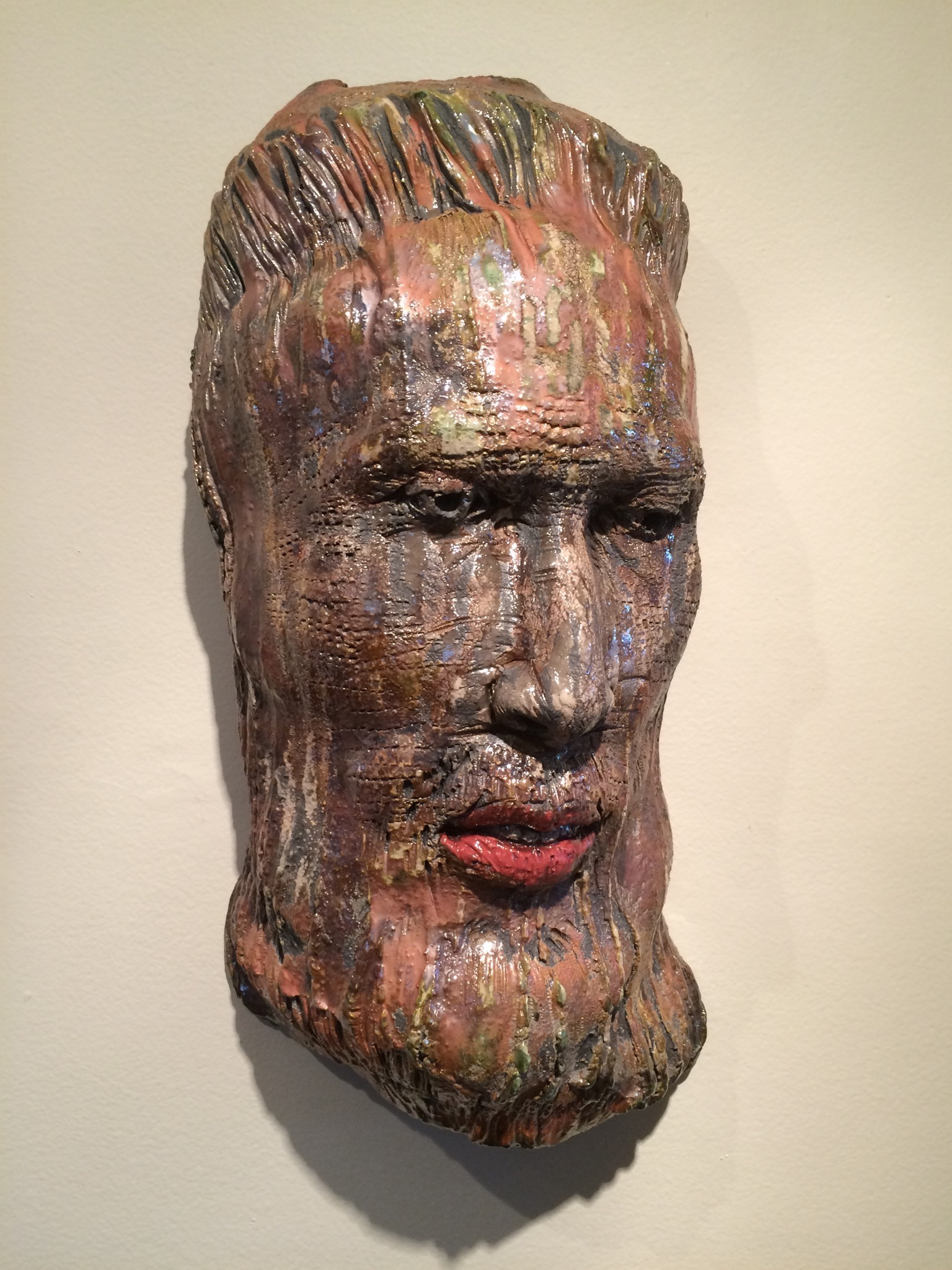 "Chieftan  2015, ceramic, 16x8x6"""