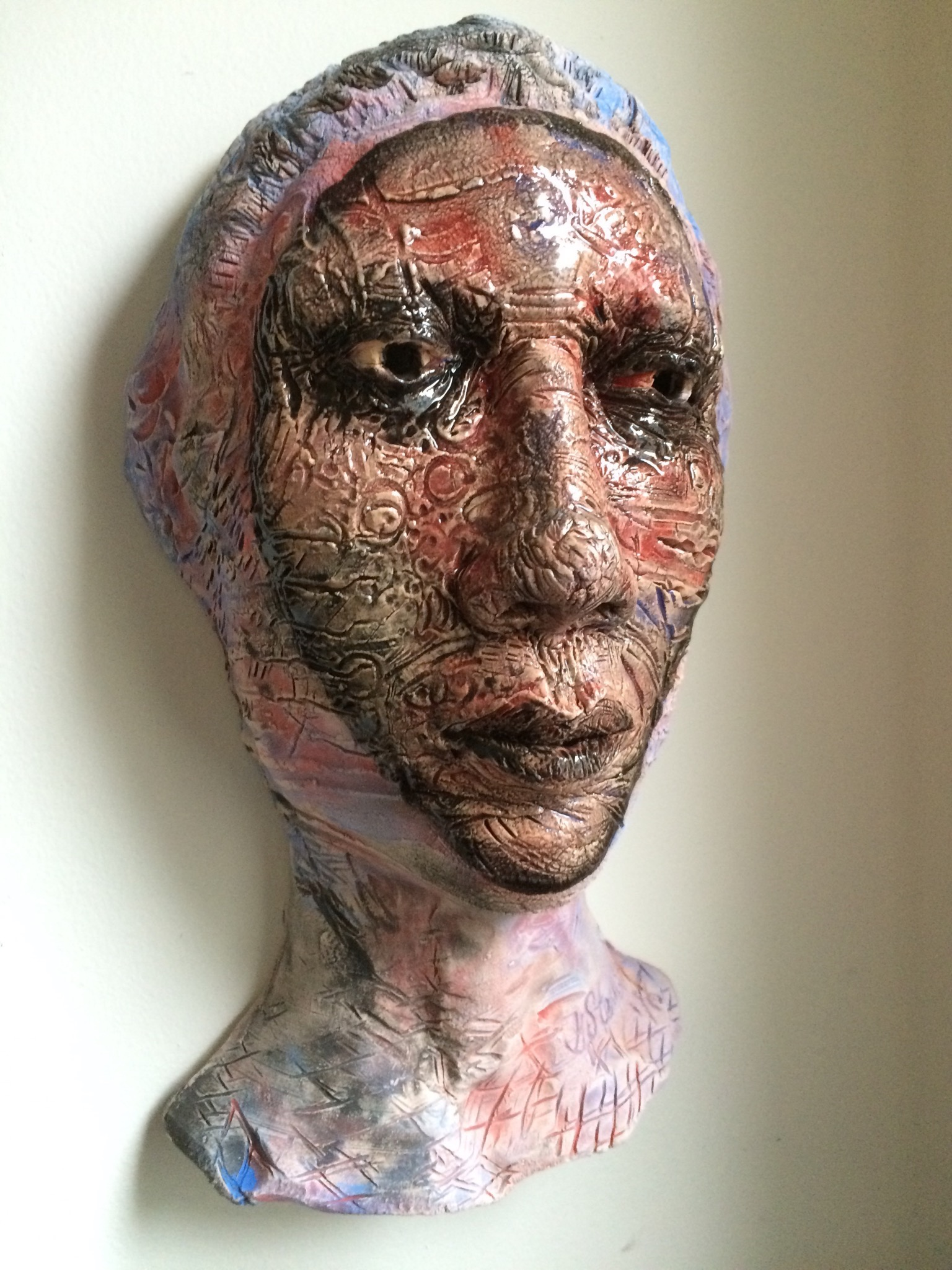 "Apprentice  2015, ceramic, 15x9x6"""