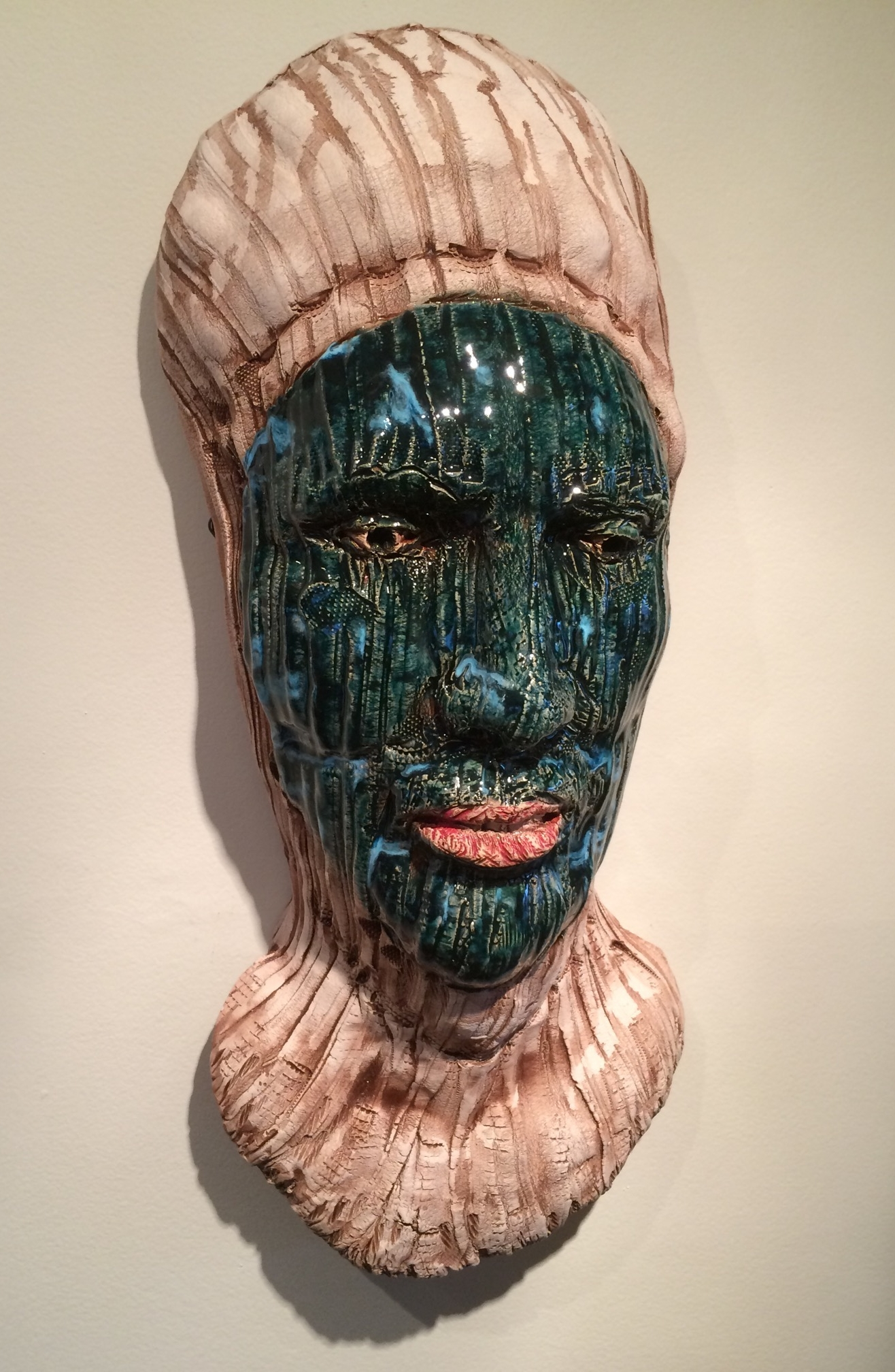 "Silk Road  2015, ceramic, 21x10x7"""