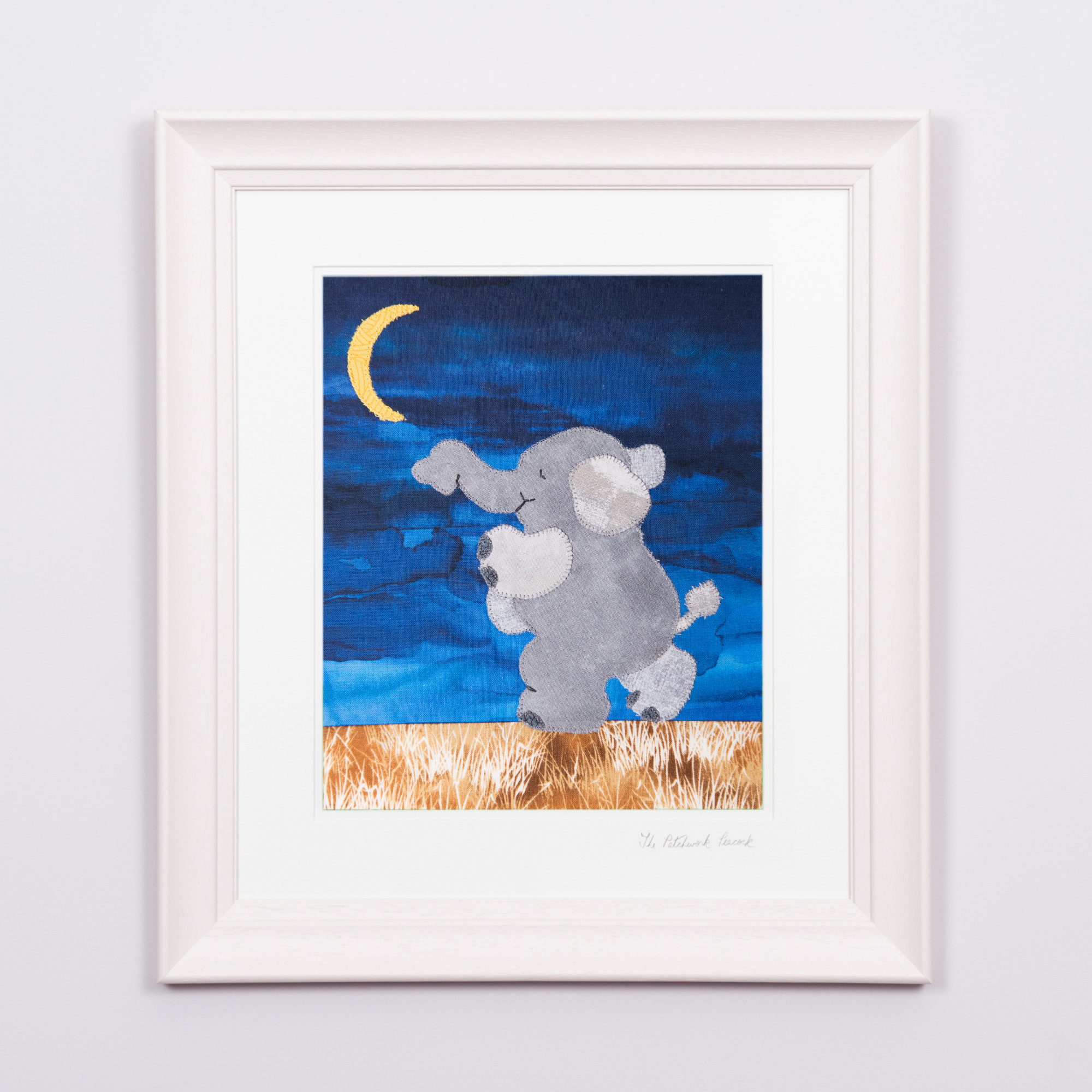 "SAFARI ELEPHANT   €70   8'""x10"" in a 15""x17"" frame"