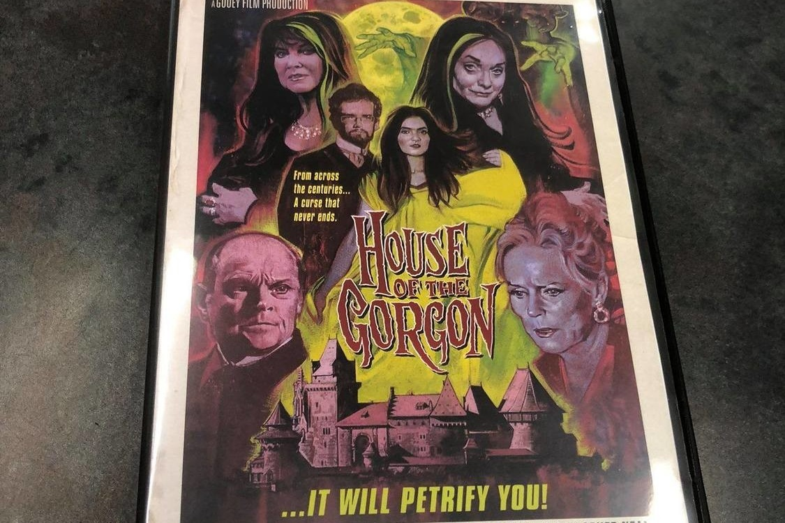 Buy the DVD, out now! - Filmed entirely in South Texas, HOUSE OF THE GORGON pays tribute to numerous films of yesteryear and unites four classic Hammer Film stars together for the first time ever!