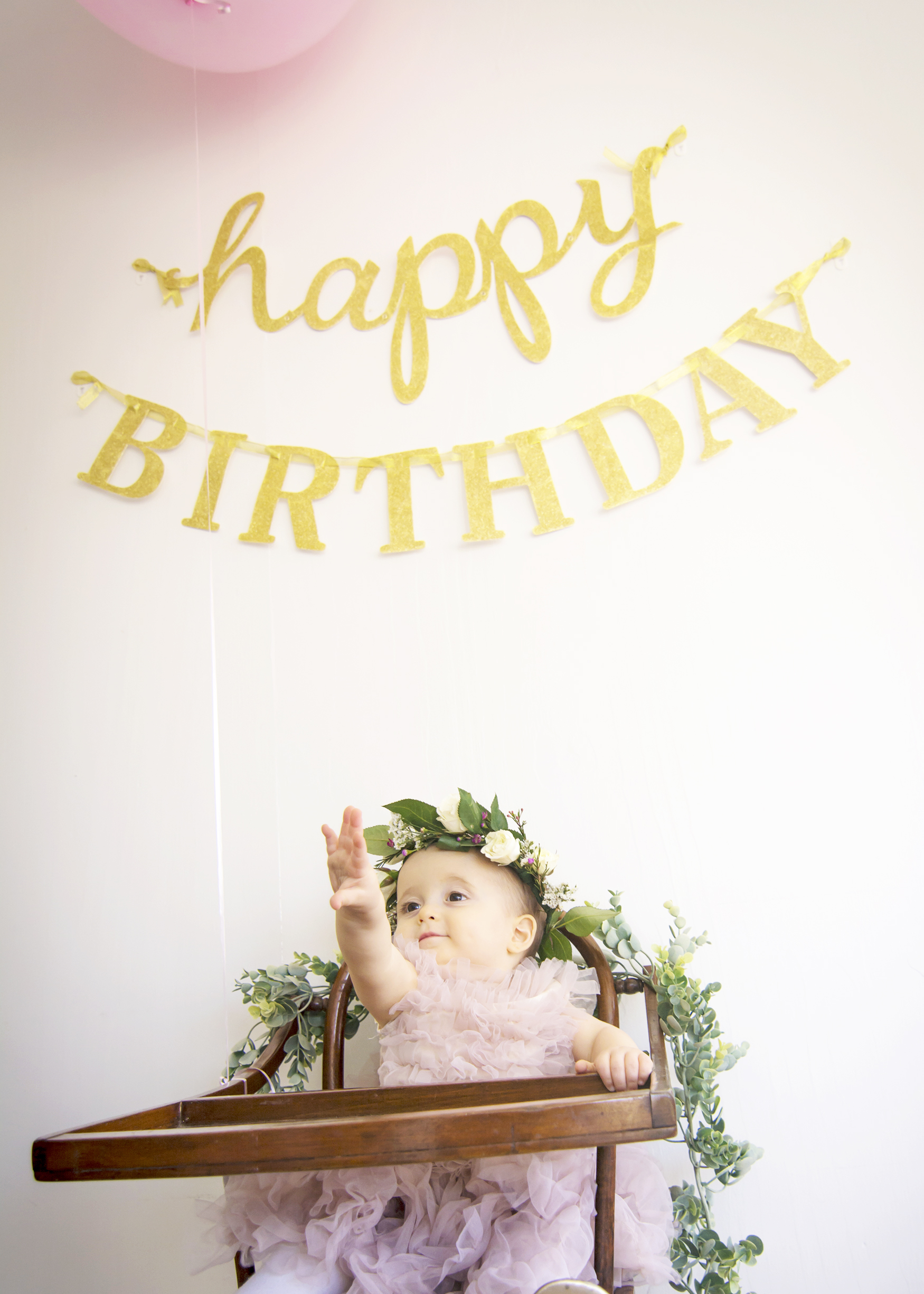 First Birthday   Flower Child - Designer Lip Service