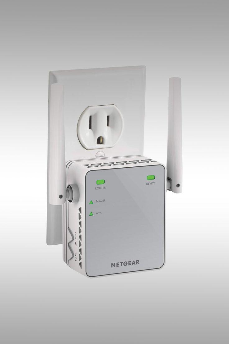 Netgear's N300 Wi-Fi Range Extender - Image Credit: Netgear