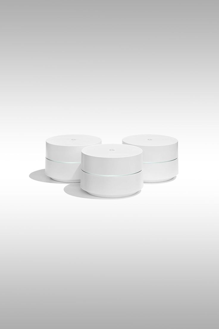 Google's whole-home mesh Wi-Fi system with three routers - Image Credit: Google