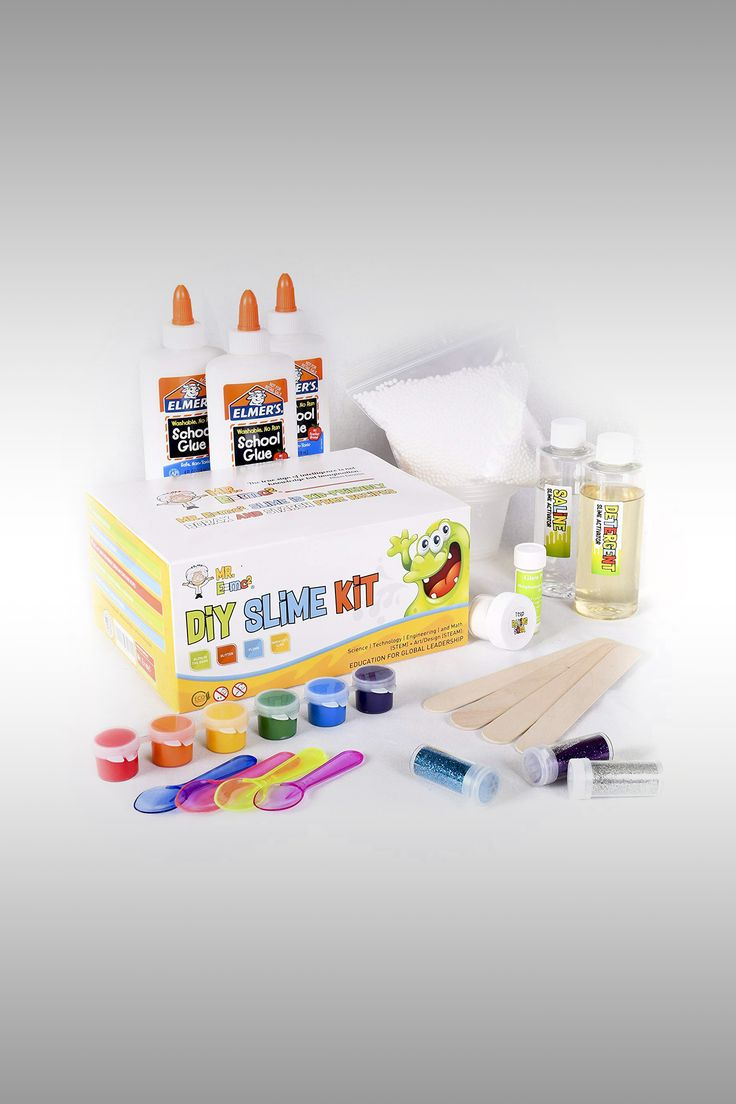 Homemade Slime Kit - Image Credit: Mr E=mc2