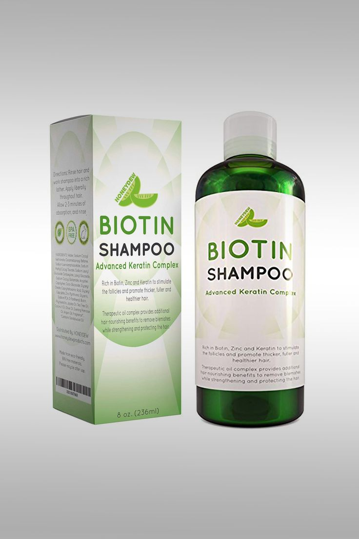 Biotin Shampoo Advanced Keratin Complex - Image Credit: Honeydew