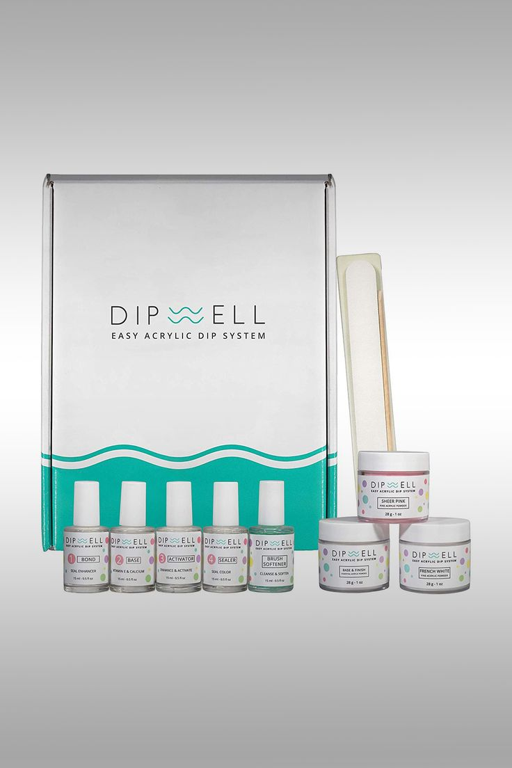 DipWell Easy Acrylic Dip System - Image Credit: DipWell
