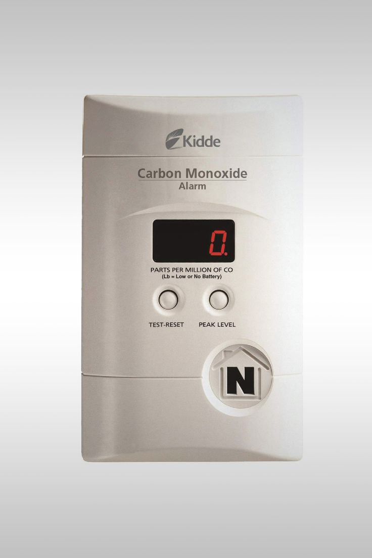 Carbon Monoxide Alarm with Digital Display KN-COPP-3 - Image Credit: Kidde