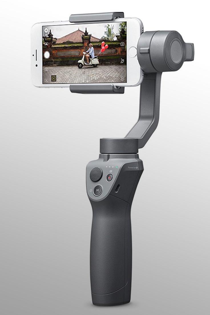 DJI osmo Mobile 2 Handheld Smartphone Gimbal - Image Credit: DJI