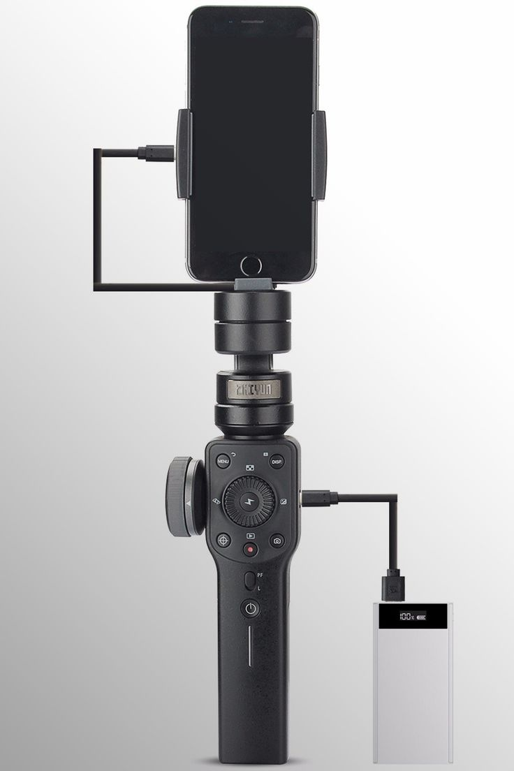 Zhiyun Smooth 4 3-Axis Handheld Gimbal Stabilizer - Image Credit: Zhi Yun