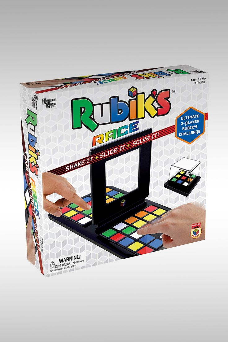 Rubik's Race - Image Credit: University Games
