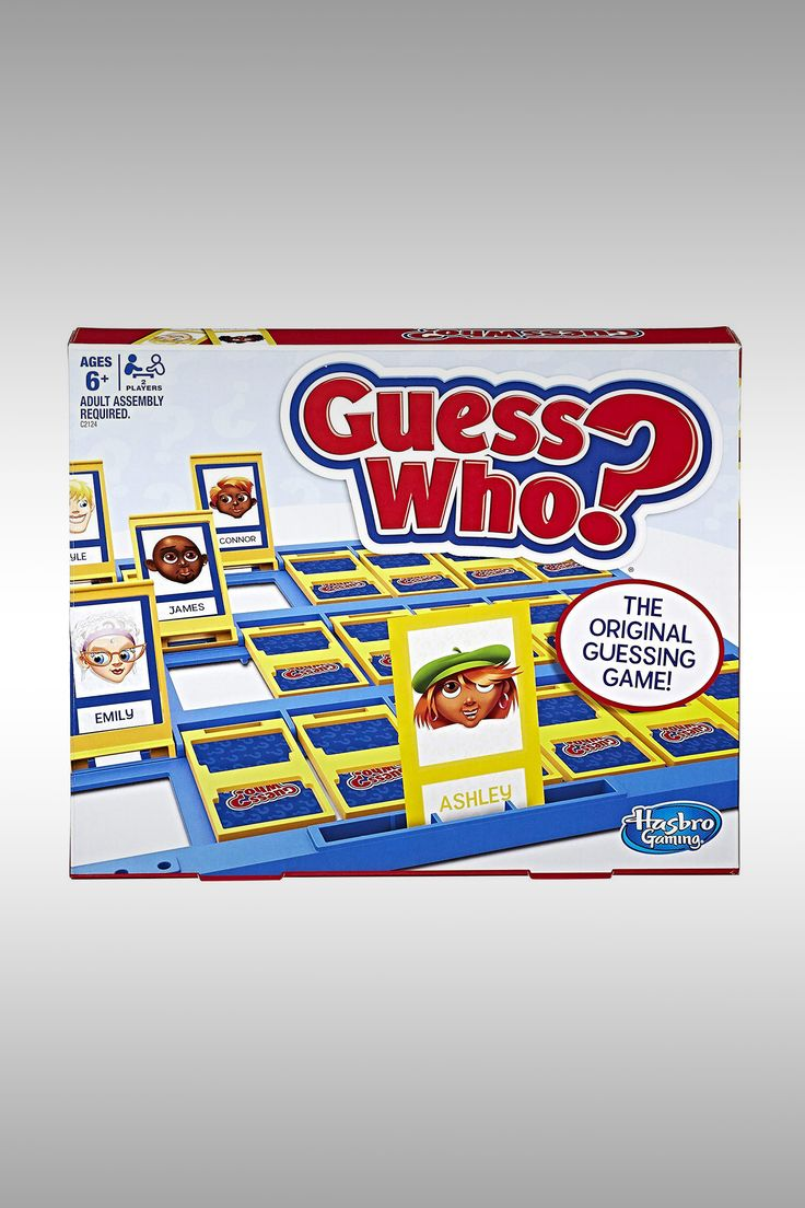 Guess Who Game - Image Credit: Hasbro