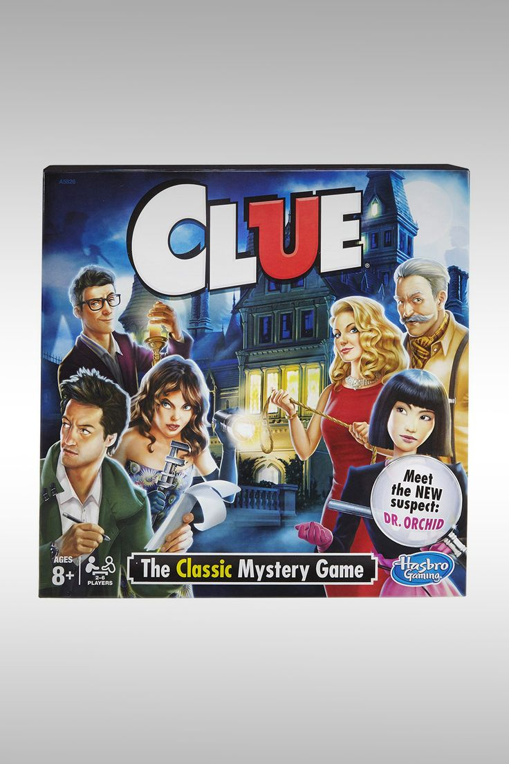 Clue Classic Mystery Game - Image Credit: Hasbro