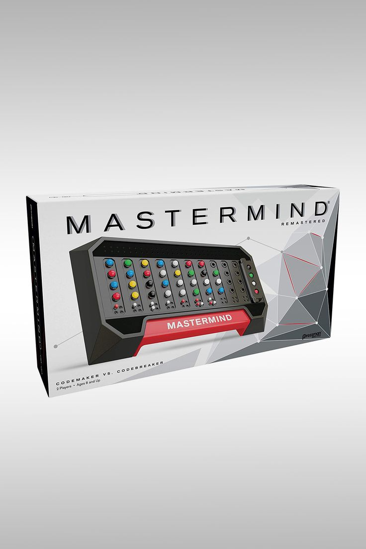 Mastermind Codemaker vs. Codebreaker - Image Credit: Pressman