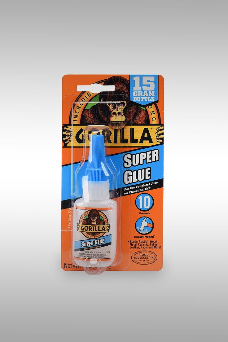Gorilla Clear Super Glue - Image Credit: Gorilla
