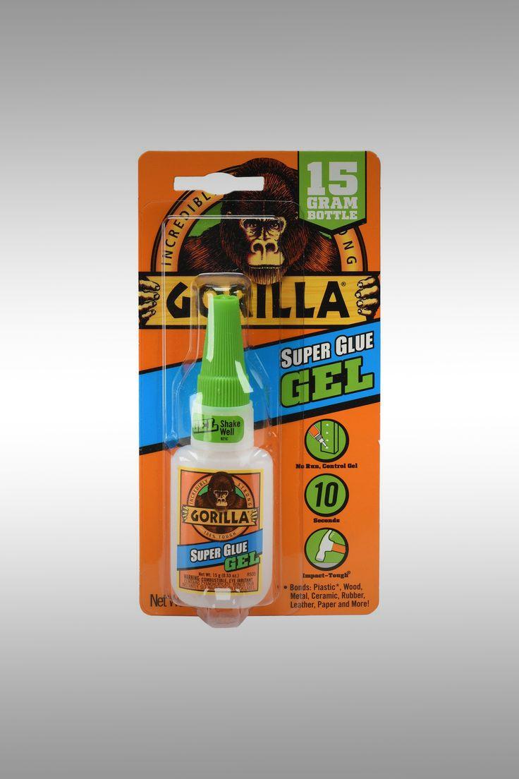 Gorilla Super Glue Gel - Image Credit: Gorilla
