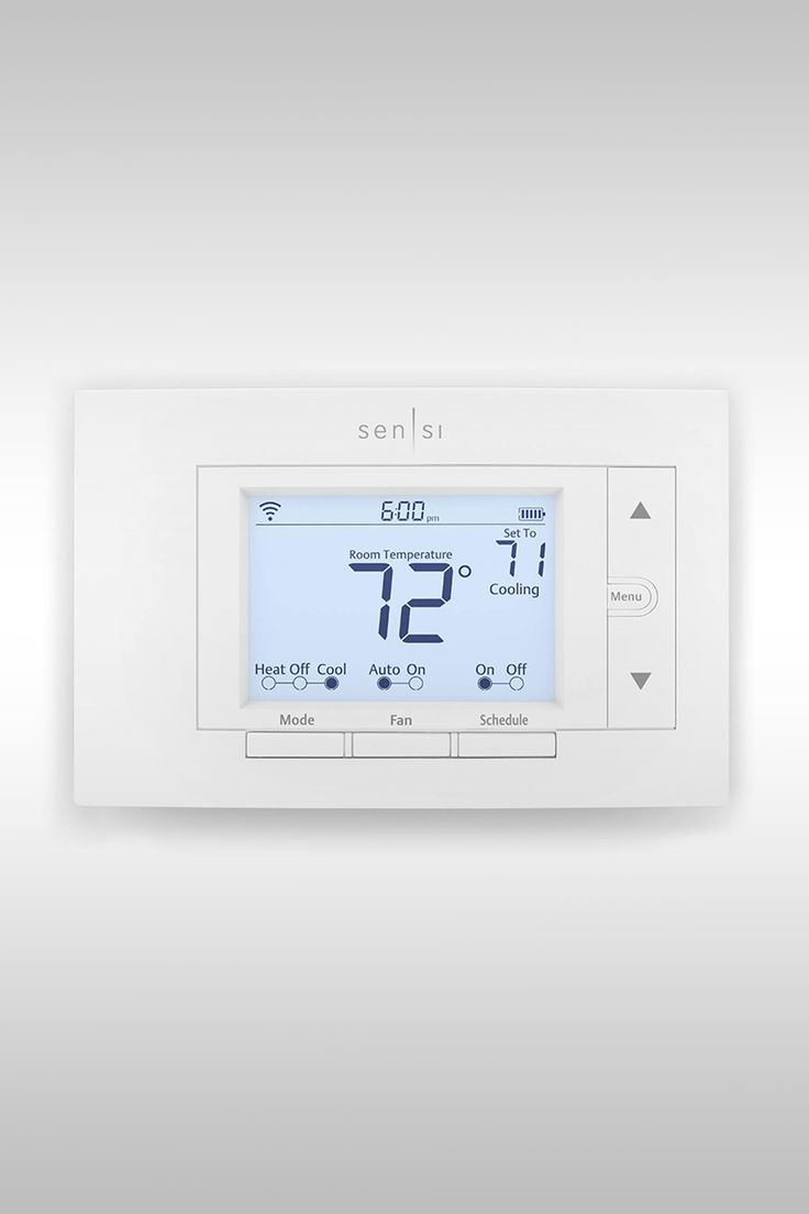 Emerson Sensi Smart Thermostat - Image Credit: Emerson