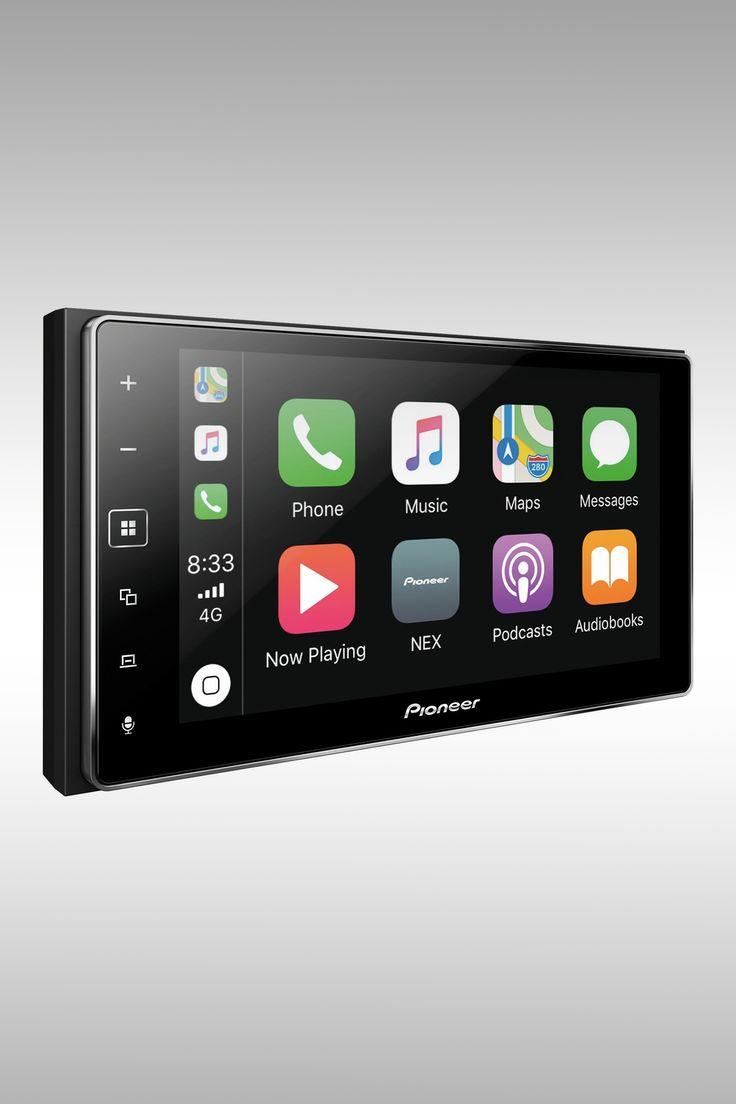 Pioneer MVH-1400NEX Apple CarPlay Receiver - Image Credit: Pioneer