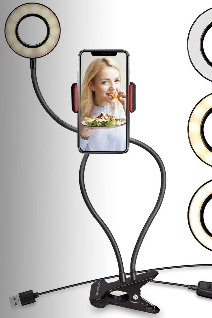 UBeesize Selfie Ring Light with Cell Phone Holder Stand - Image Credit: UBeesize