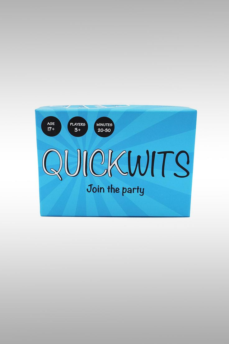 Quickwits Party Game - Image Credit: Towpath Gaming