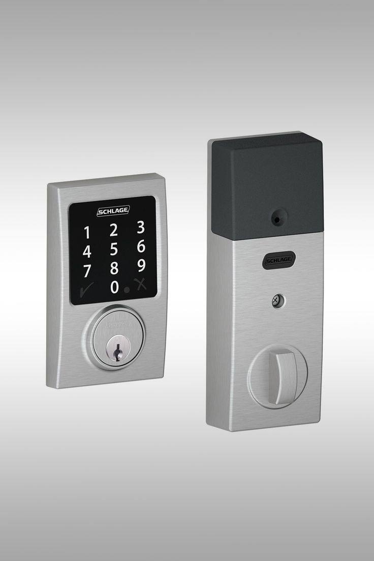 Schlage BE468CEN626 Connect Century Touchscreen Smart Lock - Image Credit: Schlage Lock Company