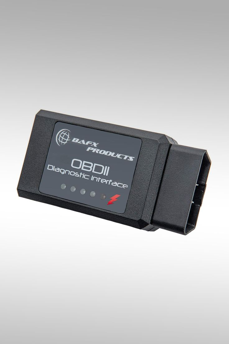Bafx Products Bluetooth Car Diagnostic OBDII Reader Scanner - Image Credit: Bafx Products