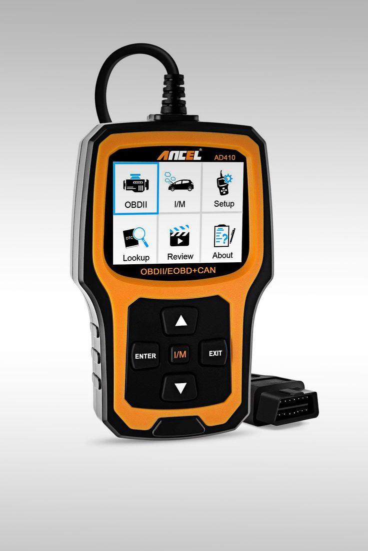 Ancel AD410 Enhanced OBD II Vehicle Code Reader - Image Credit: Ancel