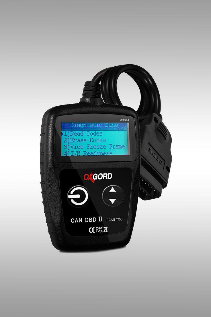 Oxgord OBD2 Scanner Code Reader - Image Credit: OxGord