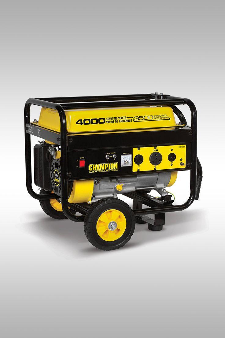 Champion 3500-Watt RV Ready Portable Generator - Image Credit: Champion Power Equipment