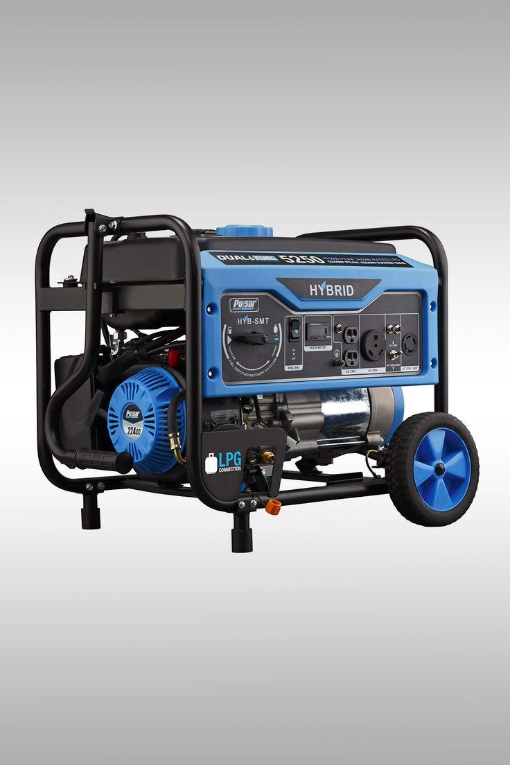Pulsar 5,250W Dual Fuel Portable Generator - Image Credit: Pulsar