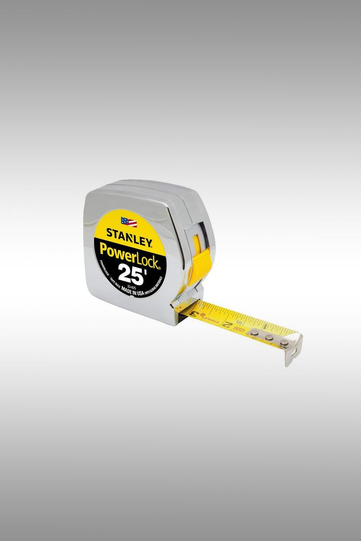Stanley 33-425 25-Foot by 1-Inch Measuring Tape - Image Credit: Stanley
