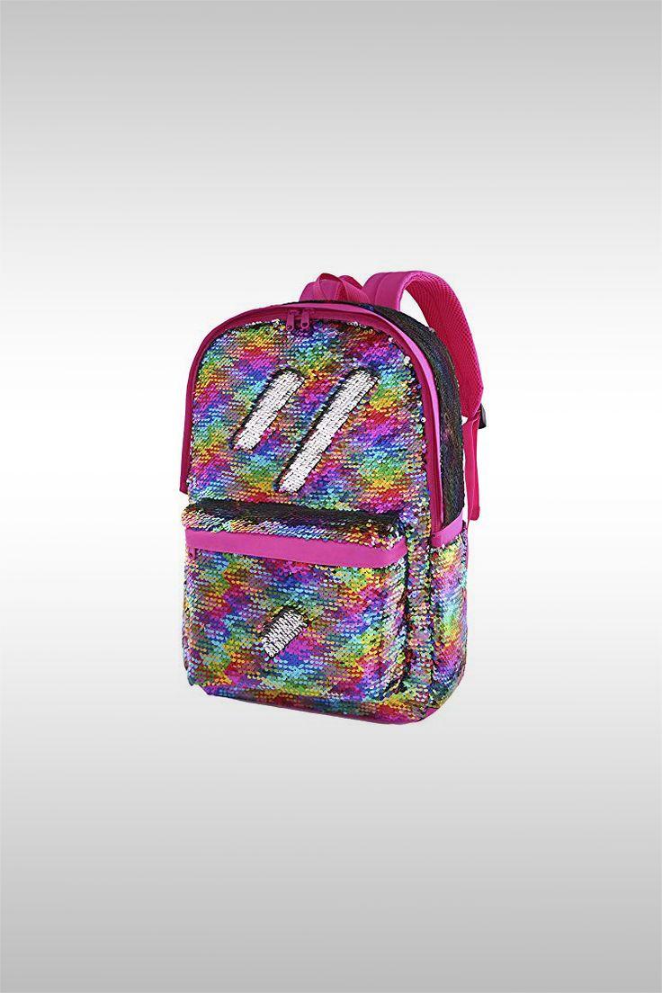 Flip Glitter Mermaid School Bag - Image Credit: Le Vasty
