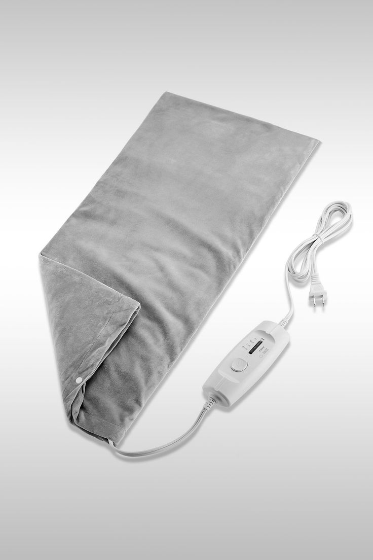 Electric Moist and Dry Heating Pad - Image Credit: Fitfirst