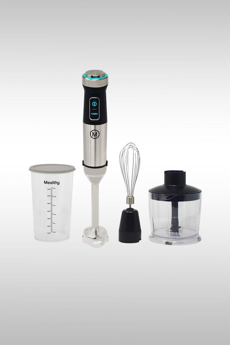 Immersion Hand Blender Kit - Image Credit: Mealthy