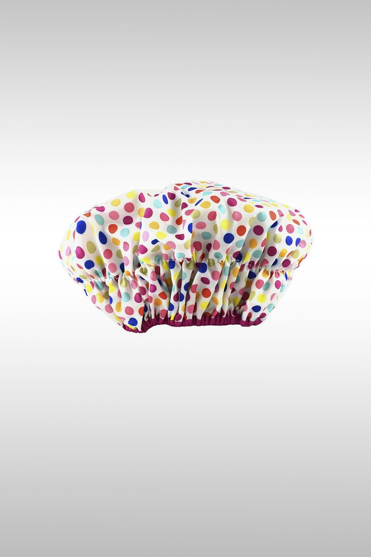 Fashionista Lined Shower Cap - Image Credit: Betty Dain