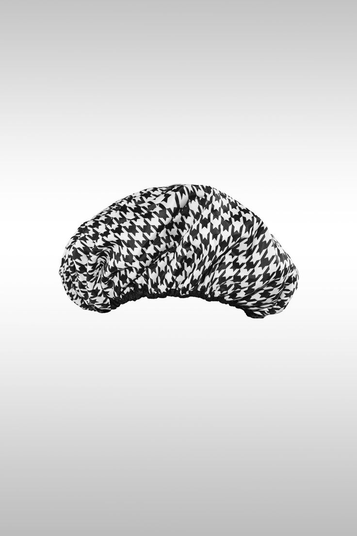 Socialite Collection Terry-Lined Shower Cap - Image Credit: Betty Dain
