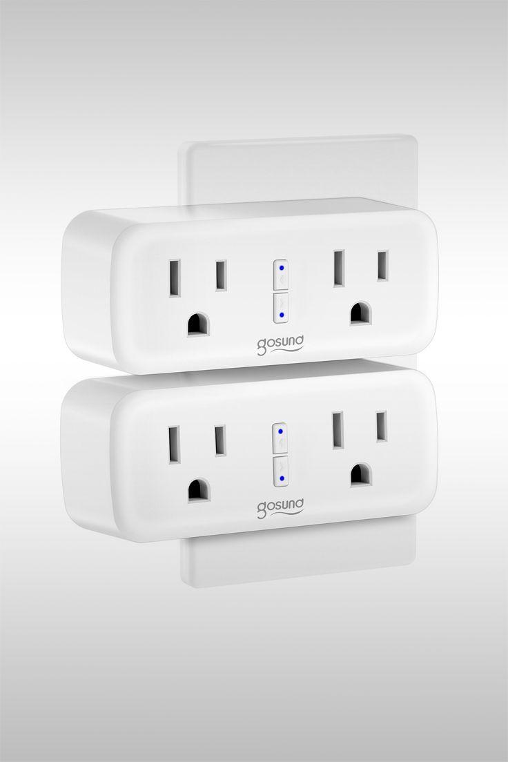 Wi-Fi Smart Plug 2-Pack - Image Credit: Gosund