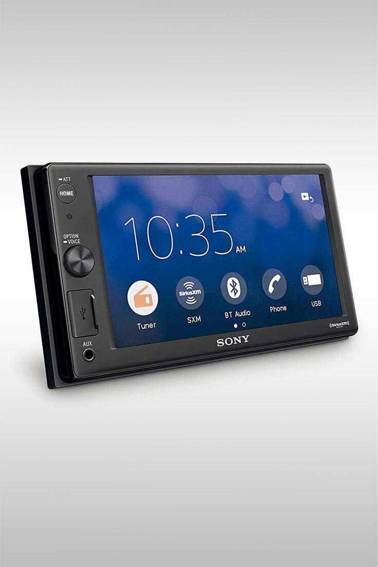 XAVAX1000 Apple CarPlay Media Receiver - Image Credit: Sony