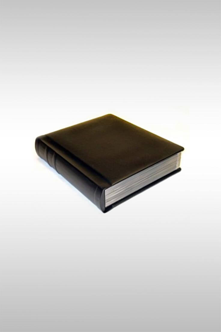 8x10 Silver Edged Photo Album - Image Credit: Venice Album