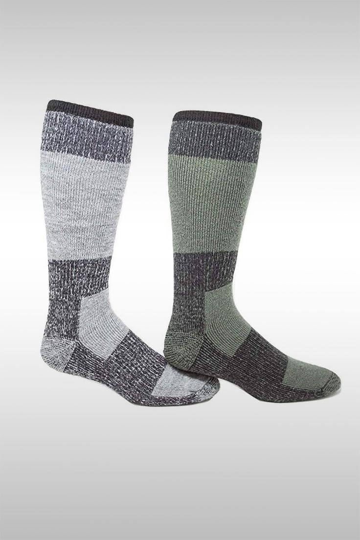 Extreme 30 Degrees Below Zero XLR Winter Socks - Image Credit: J.B. Fields